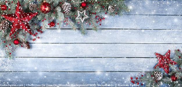 Drucke Selbst Kostenlose Gutscheinvorlage Weihnachten