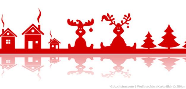 Gutscheinvorlagen Vordrucke Für Weihnachten Gestalten