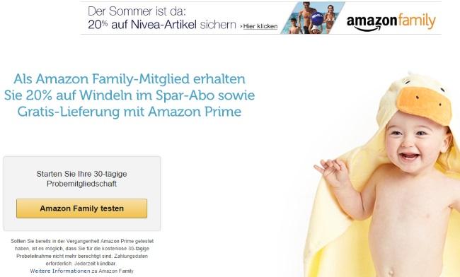 Amazon Freundschaftswerbung