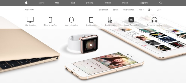 Apple Onlineshop