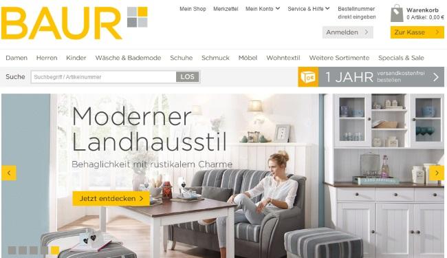 baur gutschein 59 gutscheincodes juni 2018. Black Bedroom Furniture Sets. Home Design Ideas