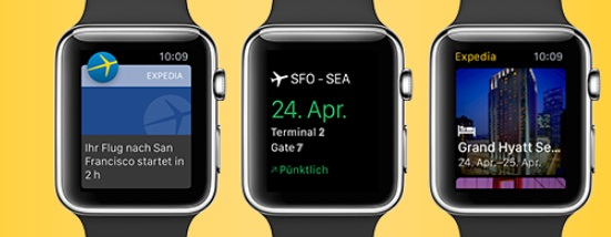 Expedia Apple-Watch
