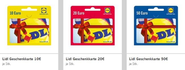 Lidl Gutscheincode 2017