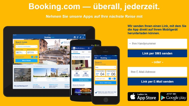 Booking.com Apps