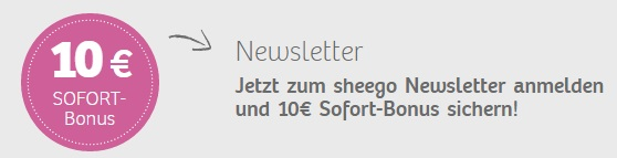 Sheego Newsletter