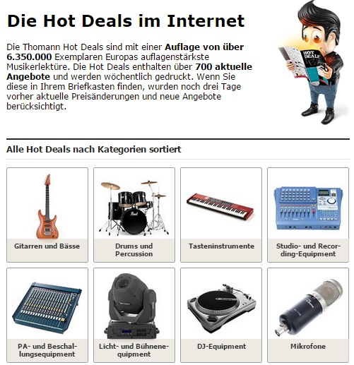 Thomann Hot-Deals