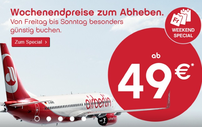 Air Berlin Weekend Special