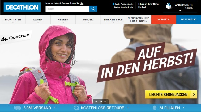 Decathlon Onlineshop