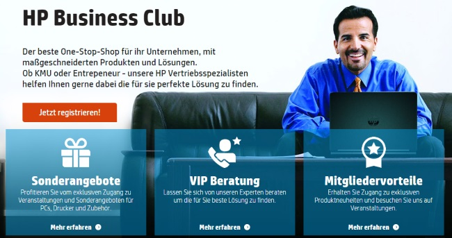 HP Business Club