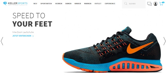 Keller Sports Onlineshop