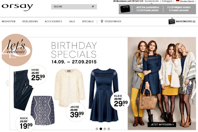 Orsay Onlineshop