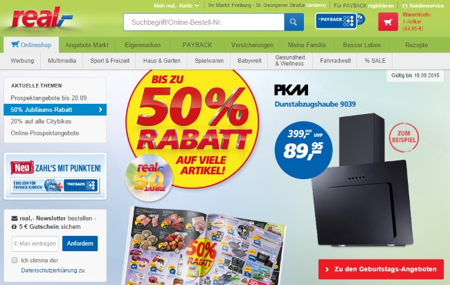 Real Singen Online Shop