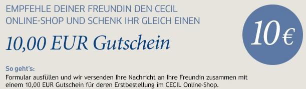 the best official supplier utterly stylish ᐅ CECIL Gutschein » 42 Gutscheincodes « November 2019