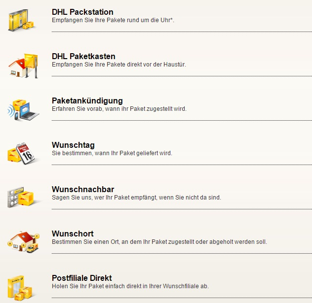 DHL Services