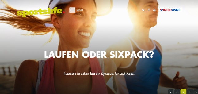 Intersport Magazin sportslife