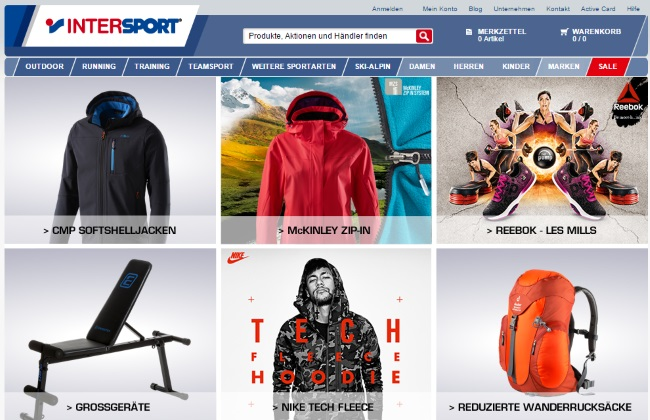 Intersport Onlineshop