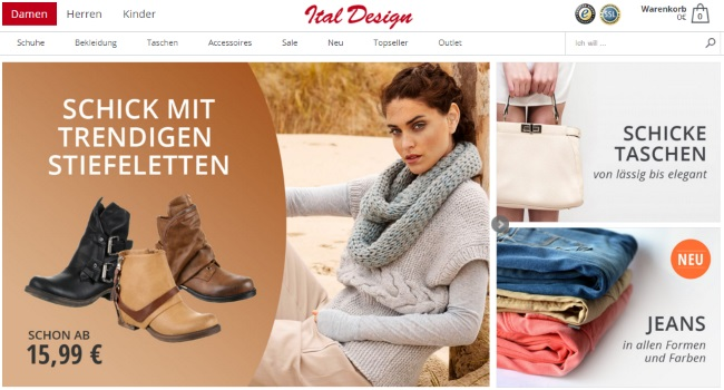 Ital Design Onlineshop