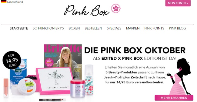 Pink Box Onlineshop
