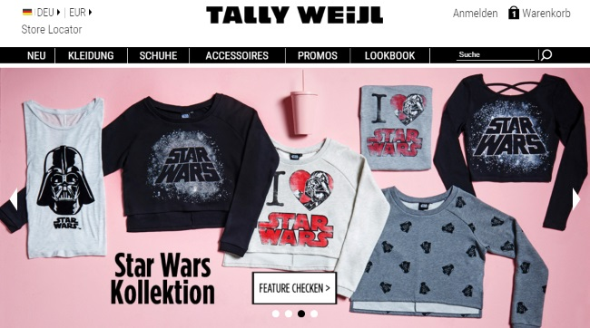 TALLY WEiJL Onlineshop