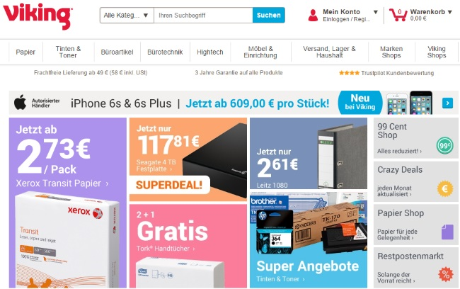 Viking Onlineshop