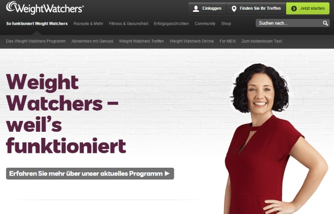 Weight Watchers Portal