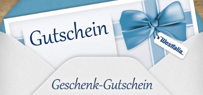 Westfalia Gutschein Versandkostenfrei