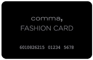 comma Fashion Card