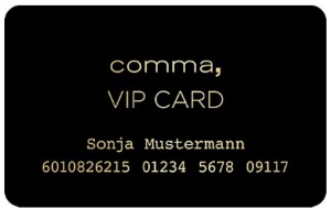 comma Fashion VIP-Card