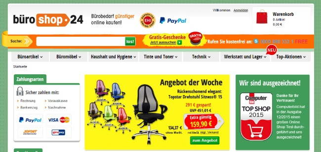 Büroshop24 Onlineshop