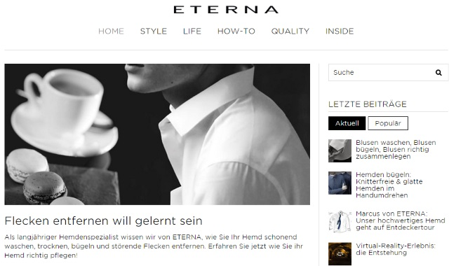 Eterna Blog