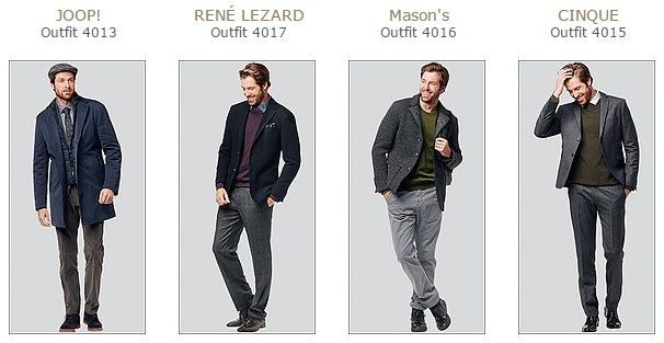 Just4Men Outfits