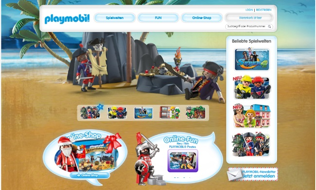 Playmobil Onlineshop