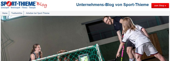 Sport Thieme Blog