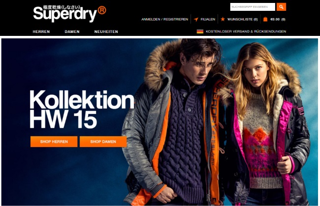 Superdry Onlineshop