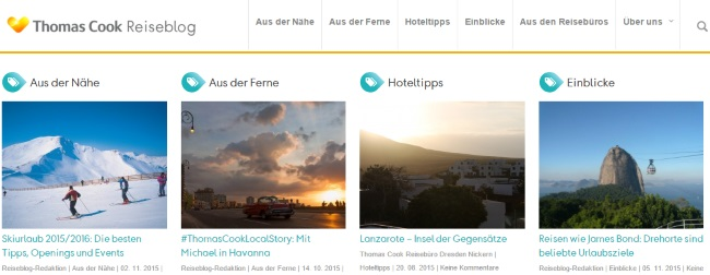 Thomas Cook Reiseblog