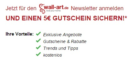 Wall Art Newsletter
