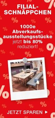 XXXLutz Filial-Schnäppchen