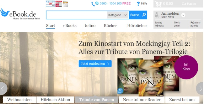 eBook.de Onlineshop