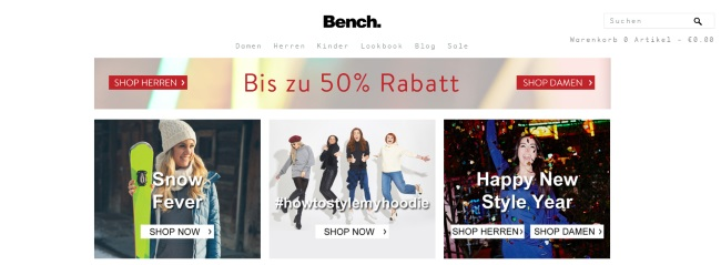 Bench Onlineshop