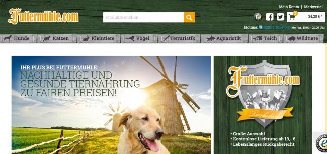 Futtermühle Onlineshop