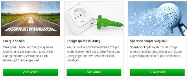 Grünspar Infowelten