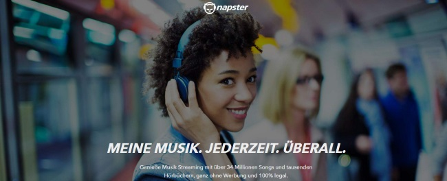 Napster Onlineshop