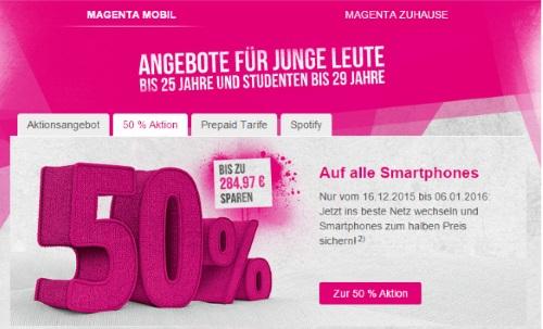 Telekom - Angebote für junge Leute