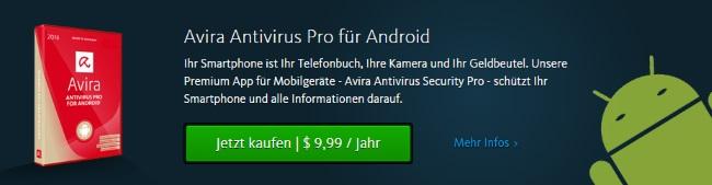 Avira Antivirus für Android
