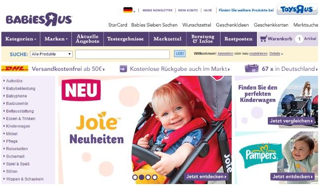 Babies r us shop online