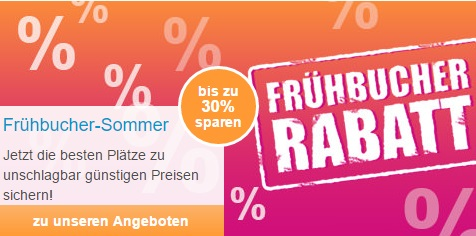 FTI Frühbucher-Rabatt