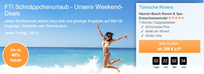 FTI Weekend-Deals