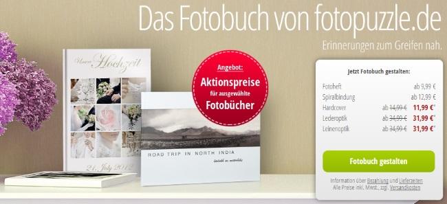 Fotopuzzle Fotobücher