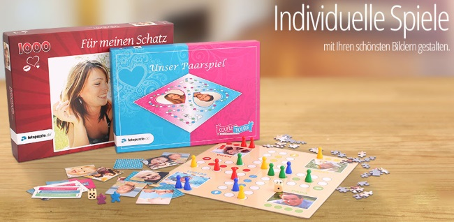 Fotopuzzle Individuelle Spiele