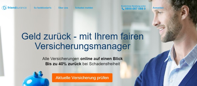 Friendsurance Onlineshop